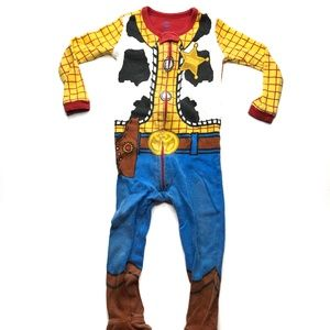 Disney Toy Story Woody Cowboy Pajamas A010780